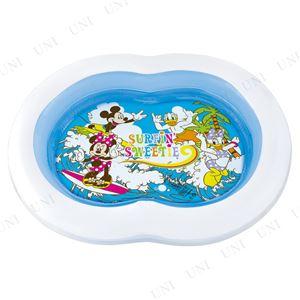 8の字型プール/ビニールプール 【125cmサイズ】 ミッキーマウス&フレンズ サーフィン 〔庭 ベランダ テラス〕