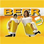 【コスプレ】 ビールジョッキコスチューム