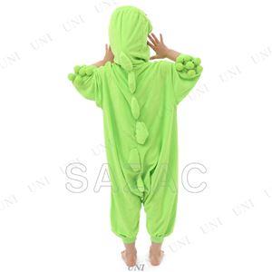 【コスプレ】 フリースガチャピン着ぐるみ  子供用110cm