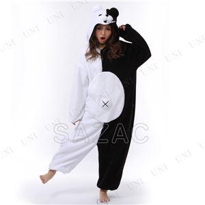 【コスプレ】 フリースモノクマ着ぐるみ