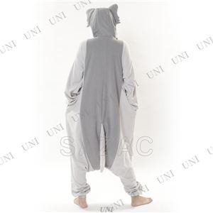 【コスプレ】 フリース着ぐるみ シルバーオオカミ