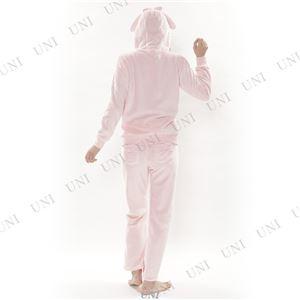 リボンちらりマイメロパーカースーツ ピンク Lサイズ