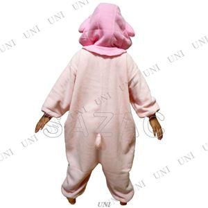 【コスプレ】 フリース着ぐるみ マイメロディ 子供用110cm