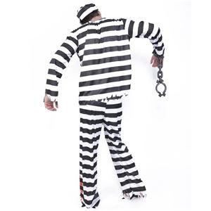 コスプレ衣装/コスチューム 【Prisoner ゾンビプリズナー】 ポリエステル 『ZOMBIE COLLECTION Zombie』 〔ハロウィン〕