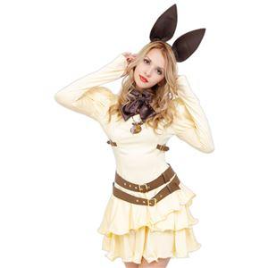 コスプレ衣装/コスチューム 【Cream Bunny クリームバニー】 ワンピース 『STEAMPUNK』 〔ハロウィン イベント〕