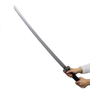 コスプレ衣装/コスチューム 【日本刀DX 銀装飾 100cm】 木製 『Uniton』 〔ハロウィン イベント〕の写真1