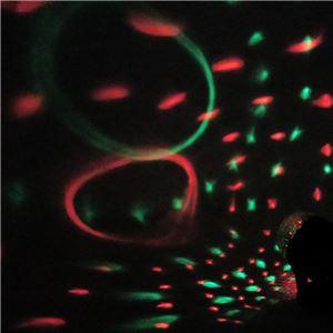LED パーティーライト/イベント用品 【幅12cm】 角度調整可 単三電池対応 『Patymo』 〔ハロウィン イベント〕