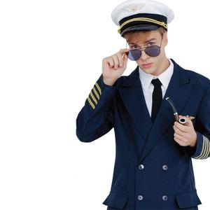 コスプレ衣装/コスチューム 【Pirot パイロット】 帽子 サングラス付き 『CLUB KING』 〔ハロウィン イベント〕