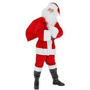 クリスマスコスプレ/衣装 【XM パーフェクトサンタ】 着丈約86cm 『Patymo』 〔イベント パーティー〕 の画像