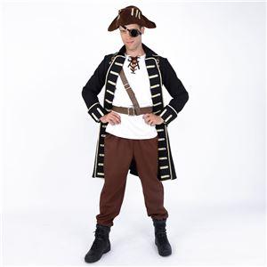 コスプレ衣装/コスチューム 【Pirate パイレーツ】 ポリエステル 『STEAMPUNK』 〔ハロウィン イベント〕