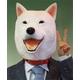 【コスプレ】白犬マスク - 縮小画像1