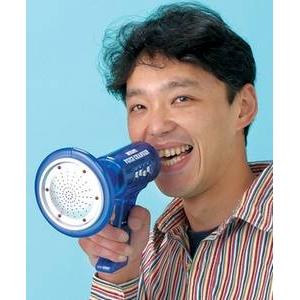 8音変声マルチボイスチェンジャー (ブルー) - 拡大画像