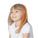 RUBIE'S (ルービーズ) 802953 Orange Hair Extension 8pcs