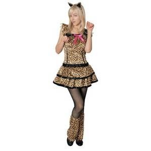 【コスプレ】 RUBIE'S (ルービーズ) Cutie Leopard(豹柄) - 拡大画像