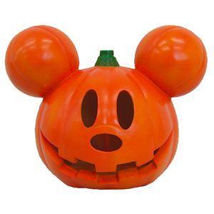 【コスプレ】RUBIE'S(ルービーズ) DISNEY(ディズニー) ランタン Lightup Blinking Pumpkin Mickey(ライトアップ ブリンキング パンプキン ミッキー) - 拡大画像