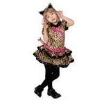 【コスプレ】 RUBIE'S (ルービーズ) Cutie Leopard(豹柄) 幼児サイズ