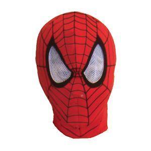 【コスプレ】 RUBIE'S(ルービーズ) SPIDER MAN(スパイダーマン) マスク(コスプレ用) Spiderman Mask(スパイダーマン マスク)  - 拡大画像