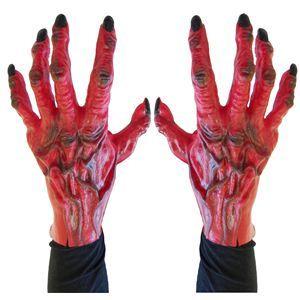 【コスプレ】 RUBIE'S(ルービーズ) ACCESSORY(アクセサリー) 手ぶくろ(コスプレ) Devil Gloves(デビル グローブズ)  - 拡大画像