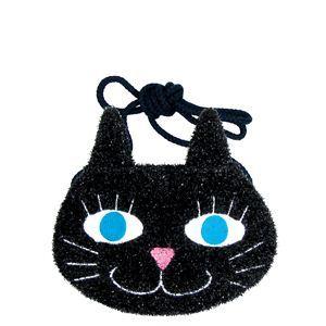 【パーティーグッズ】【ハロウィン】HALLOWEEN(ハロウィン) バッグ(コスプレ) Cat Pochette(キャット ポシェット)  - 拡大画像