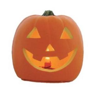 【ハロウィンパーティ用ジャック・オー・ランタン】RUBIE'S(ルービーズ)HALLOWEEN(ハロウィン) 5inch Laughing Jack-O'-Lantern (LED)(5インチ ラフィング ジャック・オー・ランタン (LED))