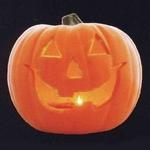 RUBIE'S(ルービーズ)HALLOWEEN(ハロウィン) 9inch Smiley Jack-O'-Lantern (LED)(9インチ スマイリー ジャック・オー・ランタン (LED))