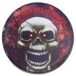 RUBIE'S(ルービーズ) HALLOWEEN(ハロウィン) Talking Glass Coaster - Skull(トーキング グラス コースター スカル)