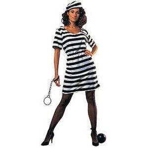 【コスプレ】 RUBIE'S (ルービーズ) PRISONER LADY - 拡大画像