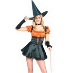 RUBIE'S (ルービーズ) Orange Sexy Witch