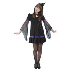RUBIE'S (ルービーズ) パープルトゥインクルウィッチ Puple Twinkle Witch Stdサイズ - 拡大画像