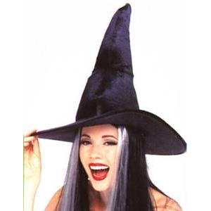 【コスプレ】 RUBIE'S (ルービーズ) BK Velour Crooked Witch Hat 49231