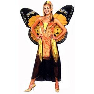 【コスプレ】 RUBIE'S (ルービーズ) Orange Butterfly(オレンジバタフライ) 56038 - 拡大画像
