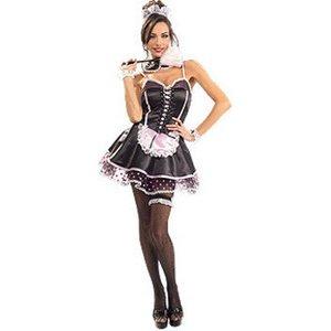【コスプレ】 RUBIE'S (ルービーズ) Naughty French Maid 888450 - 拡大画像