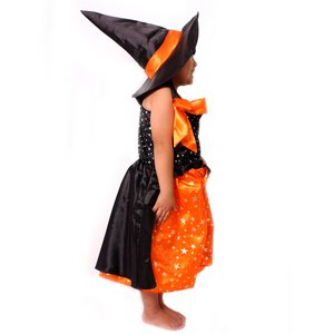 【コスプレ】 patymo orange witch キュートウィッチ ウィッチ キッズ・子供用 M