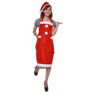 【クリスマスコスプレ 衣装】Patymo サンタなエプロン - 拡大画像