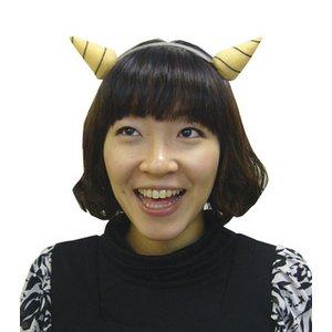 【コスプレ】鬼の角カチューシャ - 拡大画像