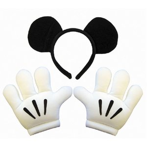 rubies 802540 Mickey Mouse Headband & Glove Set ミッキーヘッドバンド グローブ