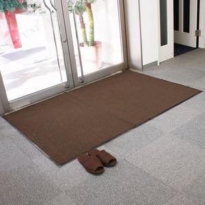 Funderful 業務用玄関マット(屋内用) 120×180cm ブラウン