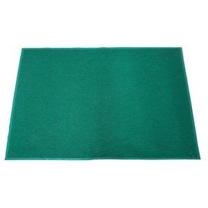 業務用 玄関マット/PVCコイルマット 【グリーン】 120cm×180cm 長方形 屋外用 土砂防止仕様 『Funderful』 〔入口〕