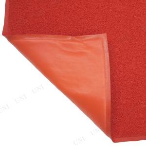 Funderful 業務用PVCコイルマット(屋外用) 120×180cm レッド