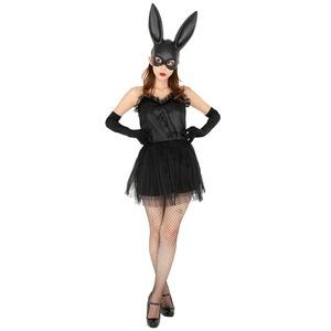 CLUB QUEEN Black bunny