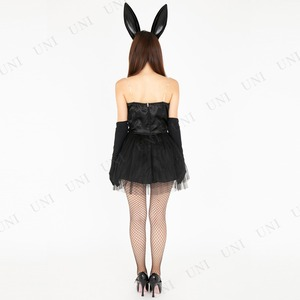 CLUB QUEEN Black bunny(ブラックバニー) 【 コスプレ 衣装 ハロウィン 大人コスチューム バニーガール 】