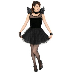 CLUB QUEEN Black angel