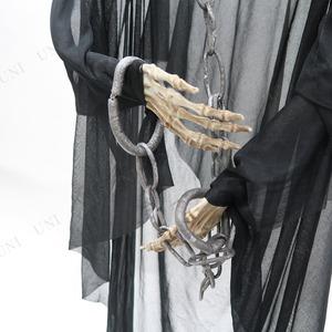 コスプレ衣装/コスチューム 【光る!ブラックリーパー 150cm】 『Uniton』 〔ハロウィン イベント〕