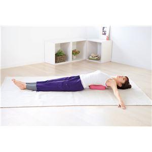寝ながら肩甲骨スタイル枕(DVD付) - 拡大画像