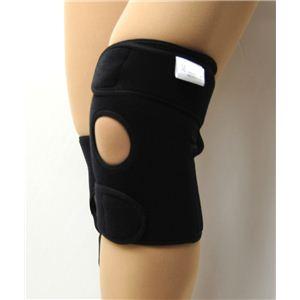 ひざの名医戸田先生開発! 医療機関でも大絶賛 かるがる膝ベルト(1枚入) ブラック M