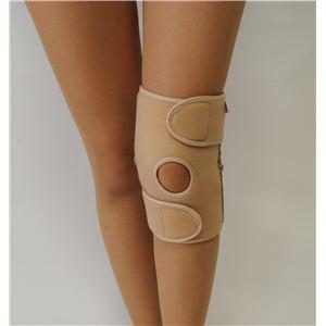ひざの名医戸田先生開発! 医療機関でも大絶賛 【かるがる膝ベルト(2枚入)】 ベージュ L/書籍セット『9割のひざの痛みは自分で治せる』