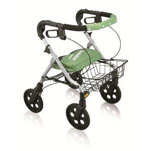 【快適介護用品】折りたたみ歩行車 エボリューションウォーカーPS - 拡大画像