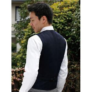 【耐刃防護生地】 京都西陣yoroi セーフティーベスト 紳士用 濃紺 M