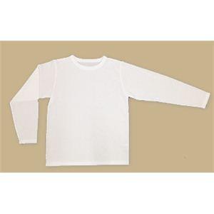 【耐刃防護生地】 京都西陣yoroi safety & cool Tシャツ(長袖) オフホワイト M