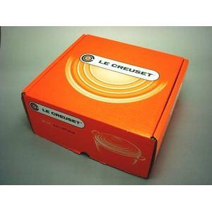 ル・クルーゼ (Le Creuset) 両手鍋 ココット・ロンド 22cm オレンジ
